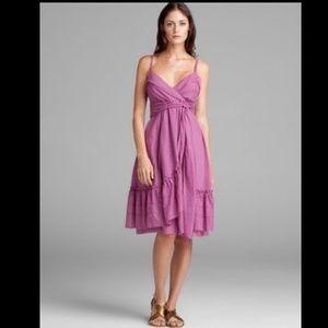 Diane von Furstenberg 'Kasi' Voile Ruffle Dress 8